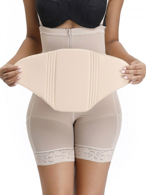 Women Skin Color Solid Color Compression Board Post Surgery