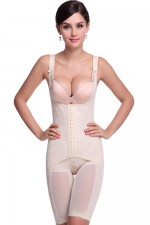 Erogenous Nude Butt Lifter Full Body Shapewear Plus Size