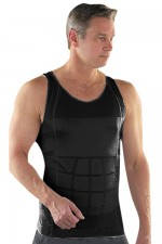 Comfortably Plus Size Slimming Mens Tummy Shaper Vest