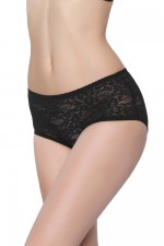 Black Lace Ladies Sexy Underwear Alluring Women Panty