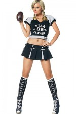 Star Player Football Costume
