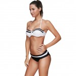 Simply Underwiring Cups Plus Size Halter Bathing Suits