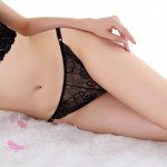 Fatal Attraction Breathable Black Lace Briefs Waist Band