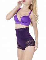 Memory Cartilage Purple Booty Enhancer Lace Trim Posture Corrector