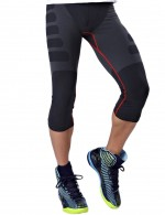 Flawlessly Cropped Mens Shapewear Running Tights Slimming Belly