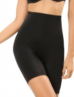 Favorite Black Mesh Lining Elastic Waistband Butt Lifters Superior Quality