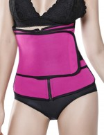 Compression Silhouette Rose Red Zipper Sticker Plus Size Neoprene Slimmer Postpartum Recovery