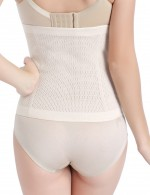 Spotlight Nude Queen Size Waist Trainer Hook Eye Ultimate Stretch