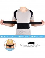 Slimming Tummy Black Support Belt Sticker Queen Size Mesh Midsection Control