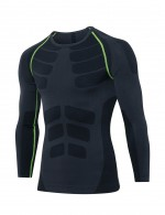 Daring Full-Sleeved Tight Sports Shirt Lines Online
