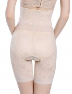 Staple Nude Plus Size 4 Plastic Bones Butt Lifter Panty Flower Postpartum Recovery