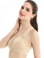 Stretch Nude Breathable Sports Bra No-slip Padding Fashion Ideas