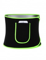 Spotlight Green Neoprene Waist Shaper With Pocket Superfit Everyday