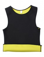 Effective Black Seamless Plus Men Neoprene Vest Shaper Sweat Burner