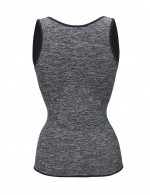 Tight Grey Open Bust Neoprene Tank Shaper Plus Tummy Compression Comfort Revolution