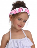 Inviting Mermaid Pattern Hair Band Wrap Parent-Child Chic Fashion