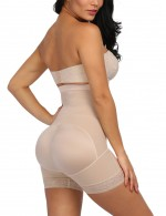 Shape My Day Nude High Waist Plus Size Butt Enhancer Panty Basic Shaping