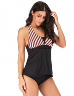 Vivid Flawless Removable Pads Two Pieces Tankini Big Size Holiday