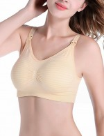 Free Cozy Broadened Jacquard Straps Maternity Bras 3 Pcs All Over Soft