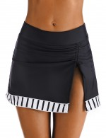 Elegance Big Size Slit Side Beach Skirt Drawstring Ultra Sexy