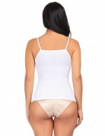 Natural Flat Out Weight Loss White Shapewear Vest