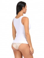 Miracle Camisole Curve Smoothing White Shapewear Slimming Body Tops Vest