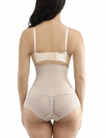 Flawlessly Skin Plastic Boned Lace Double Layers Big Size Butt Enhancer