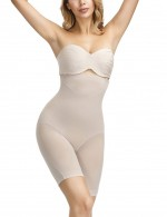 Nude Large Size Butt Enhance Boostband Bodysuit Plastic Bone Postpartum Recovery