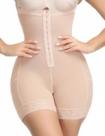 Erogenous Nude Strengthen 3 Layers Buttless Plus Size Lift Body Shaper Fat Burning