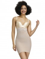 Perfect Skin Color Lace Mesh Full Body Shapewear Plus Size Fashion