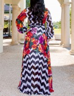 Plus Size Floor-Length Maxi Dress