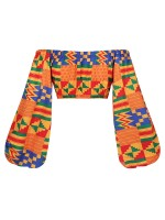 Extraordinary Elastic Band African Pattern Top Super Sexy