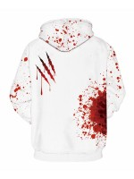 Fancinating Couple Hooded Top Halloween Large Size Fashion