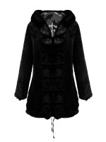 Well-Suited Fur Camflouge Painting Hood Parka Fashion Trend