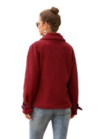 Consummate Jacket Turndown Collar Full Sleeve For Hanging Out