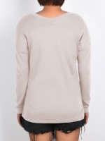 Versatile White Shirt Solid Color Long Sleeve Soft