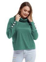 Simply Chic Cowl Neck Drop Shoulder Sleeve Shirt Ladies Grace