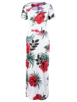 Naughty Hollow Round Neck Big Size Maxi Dress Fashion Shopping