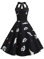 Fairy Black New Sexy Retro Women' Dress For Halloween Form Fitting