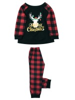Starry Christmas Child Sleepwear Plaid Print Online