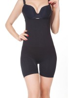 Power Conceal Black Tummy Control High-Waist Butt Lifter Shapewear