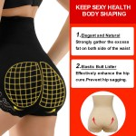 Strengthen Black Lace High Waist Big Size 4 Steel Boned Butt Lifter Slimmer