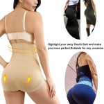 Slimming Belly Skin Rib High Rise 4 Steel Boned Butt Lifter Big Size