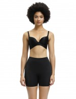 Ventilate Black Compressed Abdomen Butt Enhancer shorts Plain Underwear
