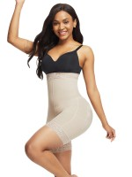 Figure Compression Skin Color Butt Lifter High Waist Tummy Control