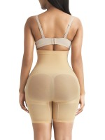 Slimming Stomach Apricot Butt Lifter Tummy Control High Rise