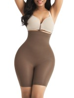 Spontaneous Heating Brown Butt Enhance Seamless Shaper High Waist