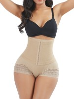 Thermo Heating Skin Color High Waist Sheer Mesh Panty Shaper Curve Shaper