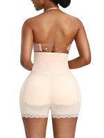 Haute Contour Skin Color Plus Size Butt Lifter Hooks Lace Trim