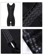 Magic Boost Black Lace Hooks U Neck Glue Crotchless Big Size Bodysuits